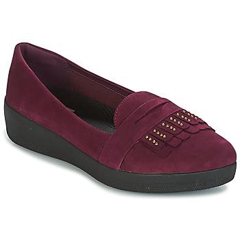 Obuća Žene  Balerinke i Mary Jane cipele FitFlop LOAFER Ljubičasta