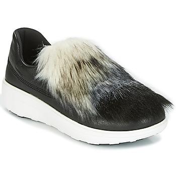 Obuća Žene  Slip-on cipele FitFlop LOAFER Crna