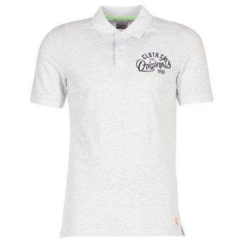 Odjeća Muškarci  Polo majice kratkih rukava Jack & Jones JORTRAST Bijela