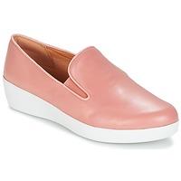 Obuća Žene  Slip-on cipele FitFlop SUPERSKATE Pink