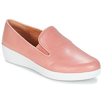 Obuća Žene  Slip-on cipele FitFlop SUPERSKATE Ružičasta