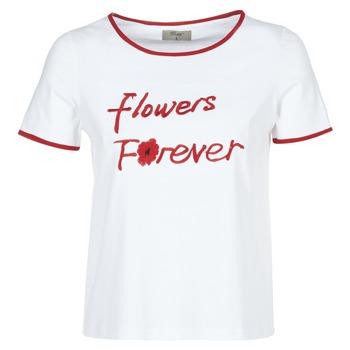 Odjeća Žene  Majice kratkih rukava Betty London INNATIMBI White / Red