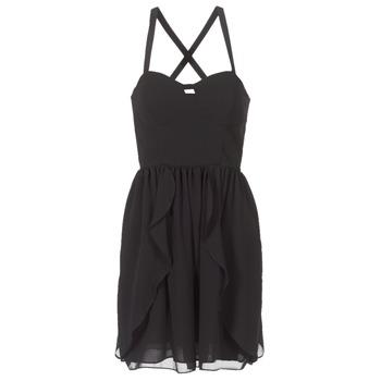 Odjeća Žene  Kratke haljine Naf Naf LENY R1 Crna