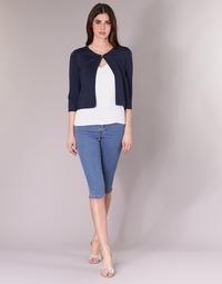 Odjeća Žene  Hlače 3/4 i 7/8 Vero Moda VMHOTSEVEN Blue