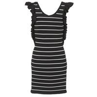Odjeća Žene  Kratke haljine Vero Moda VMABHY Crna / Bijela