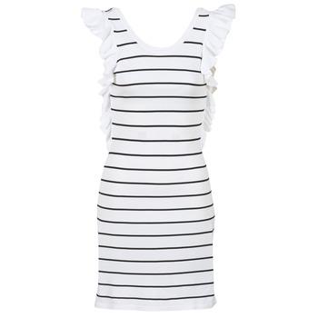 Odjeća Žene  Kratke haljine Vero Moda VMABHY Bijela / Crna
