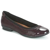 Obuća Žene  Balerinke i Mary Jane cipele Clarks NEENAH GARDEN Boja patlidžana