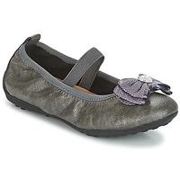Obuća Djevojčica Balerinke i Mary Jane cipele Geox J PIUMA BALLERINES Siva