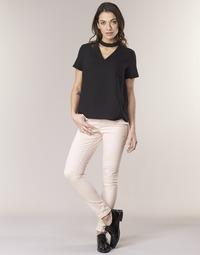 Odjeća Žene  Hlače s pet džepova Noisy May NMLUCY Ružičasta