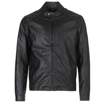 Odjeća Muškarci  Kožne i sintetičke jakne Yurban IMIMID Crna
