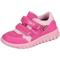 Obuća Djeca Niske tenisice Superfit Sport Mini Pink Kombi Velour Tecno Textil Ružičasta