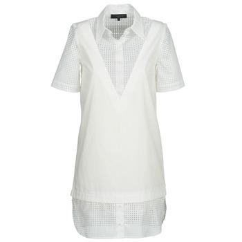 Odjeća Žene  Kratke haljine American Retro CHARLOTTE Bijela