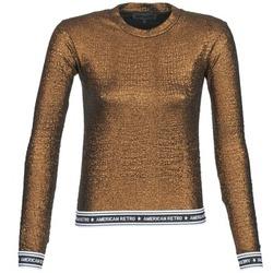 Odjeća Žene  Majice dugih rukava American Retro ALLAN Gold