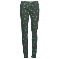 Odjeća Žene  Slim traperice American Retro TINA Crna / Zelena