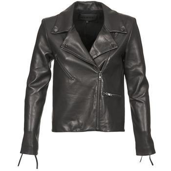 Odjeća Žene  Kožne i sintetičke jakne American Retro LEON JCKT Crna