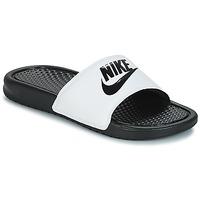 Obuća Muškarci  Sportske natikače Nike BENASSI JUST DO IT Bijela / Crna