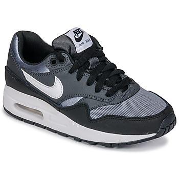 Obuća Dječak  Niske tenisice Nike AIR MAX 1 GRADE SCHOOL Black / Grey