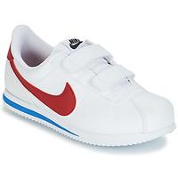 Obuća Dječak  Niske tenisice Nike CORTEZ BASIC PRE-SCHOOL Bijela / Blue / Red