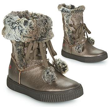 Obuća Djevojčica Čizme za grad GBB NOUSTIK Brončana