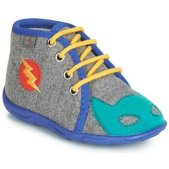 Obuća Dječak  Papuče GBB SUPER BOYS Siva-plava / Dtx / Amis