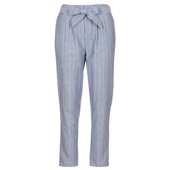 Odjeća Žene  Hlače s pet džepova Betty London IKARALE Blue / Bijela