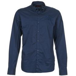 Odjeća Muškarci  Košulje dugih rukava Les voiles de St Tropez ACOUPA Blue