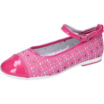 Obuća Djevojčica Balerinke i Mary Jane cipele Didiblu ballerine pelle scamosciata vernice AG486 Rosa
