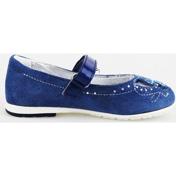 Obuća Djevojčica Balerinke i Mary Jane cipele Didiblu ballerine blu camoscio AG487 Blu