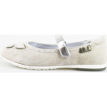 Obuća Djevojčica Balerinke i Mary Jane cipele Didiblu ballerine grigio camoscio AG489 Grigio