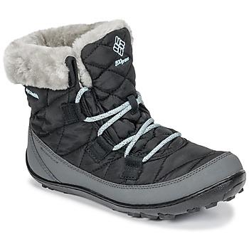 Obuća Djeca Čizme za snijeg Columbia YOUTH MINX SHORTY OMNI-HEAT™ WATERPROOF Crna