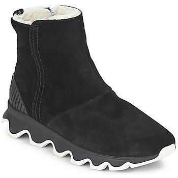 Obuća Žene  Čizme za snijeg Sorel KINETIC™ SHORT Crna