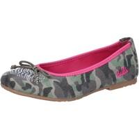 Obuća Djevojčica Balerinke i Mary Jane cipele Lulu AG640 Zelena