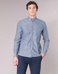 Odjeća Muškarci  Košulje dugih rukava Casual Attitude IPODRUM Blue