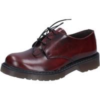 Obuća Muškarci  Radne cipele Olga Rubini classiche bordeaux pelle lucida AD720 Rosso