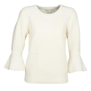 Odjeća Žene  Puloveri MICHAEL Michael Kors SHAKER ROUND SLV Bijela