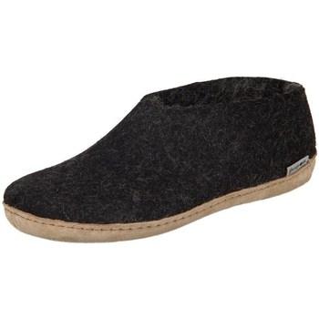Obuća Žene  Papuče Glerups DK Shoe Charcoal Lammwollfilz Crna