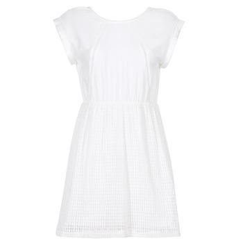 Odjeća Žene  Kratke haljine Moony Mood INDI Bijela