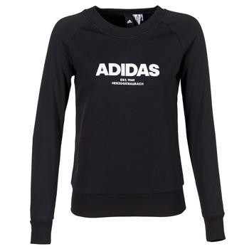 Odjeća Žene  Sportske majice adidas Originals ESS ALLCAP SWT Crna