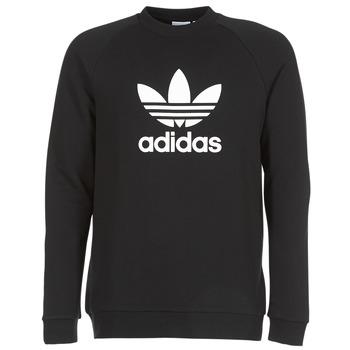 Odjeća Muškarci  Sportske majice adidas Originals TREFOIL CREW Crna