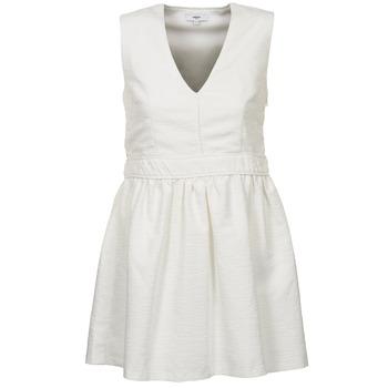 Odjeća Žene  Kratke haljine Suncoo CAGLIARI Bijela