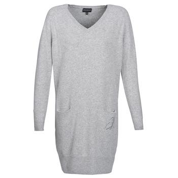 Odjeća Žene  Kratke haljine Emporio Armani CROWA Siva