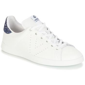 Obuća Djevojčica Niske tenisice Victoria DEPORTIVO BASKET PIEL Bijela / Blue