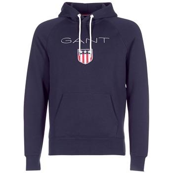 Odjeća Muškarci  Sportske majice Gant GANT SHIELD SWEAT HOODIE Blue