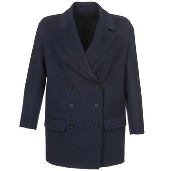 Odjeća Žene  Kaputi Joseph DOBBLE Blue
