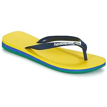 Obuća Japanke Havaianas BRASIL LAYERS Žuta