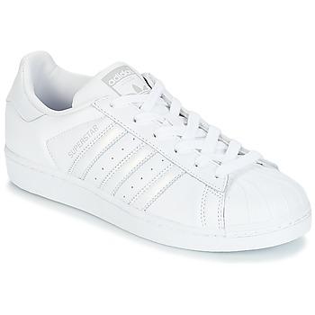 Obuća Žene  Niske tenisice adidas Originals SUPERSTAR W Bijela / Srebrna