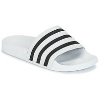 Obuća Sportske natikače adidas Originals ADILETTE Bijela / Crna