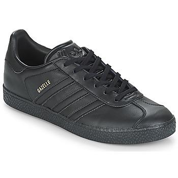 Obuća Djeca Niske tenisice adidas Originals GAZELLE J Crna