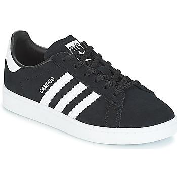 Obuća Djeca Niske tenisice adidas Originals CAMPUS C Crna