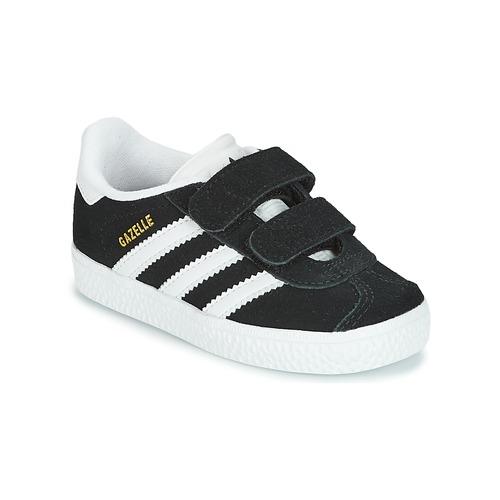 Obuća Djeca Niske tenisice adidas Originals GAZELLE CF I Crna